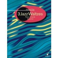 PUTZ E. JAZZ WALTZES PIANO 4 MAINS