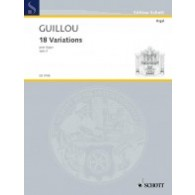 GUILLOU J. VARIATIONS OP 3 ORGUE
