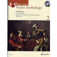 BAROQUE VIOLON ANTHOLOGY VOL 2
