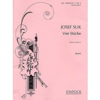 SUK J. 4 STUCKE OP 17 VOL 2 VIOLON