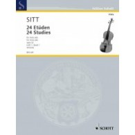 SITT H. 24 STUDIES OPUS 32 VOL 1 ALTO