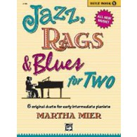 MIER M. JAZZ RAGS BLUES FOR TWO PIANO 4 MAINS