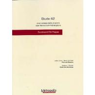 DE WEWEIRE F./VAN DE  POPPE G. ETUDE 42 CAISSE CLAIRE