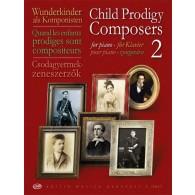 CHILD PRODIGY COMPOSERS VOL 2 PIANO