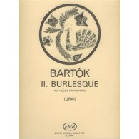 BARTOK B. BURLESQUE VIOLON PIANO