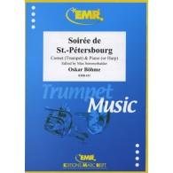 BOEHME O. SOIREE DE ST PETERSBOURG TROMPETTE