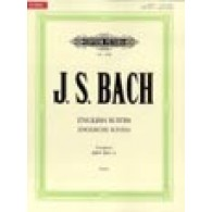 BACH J.S. SUITES ANGLAISES PIANO