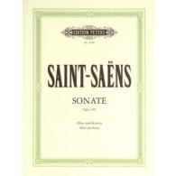 SAINT-SAENS C. SONATE OP 166 HAUTBOIS