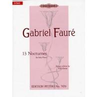 FAURE G. NOCTURNES PIANO