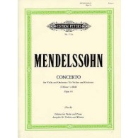 MENDELSSOHN F. CONCERTO E MINOR OP 64 VIOLON