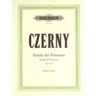 CZERNY K. L'ECOLE DU VIRTUOSE OP 365 PIANO