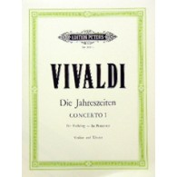 VIVALDI A. CONCERTO LE PRINTEMPS OP 8 N°1 VIOLON