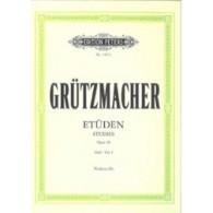 GRUTZMACHER 24 ETUDES OPUS 38 VOL 1 VIOLONCELLE