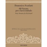 SCARLATTI D. 60 SONATES CLAVECIN