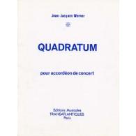 WERNER J.J. QUADRATUM ACCORDEON