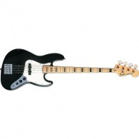 FENDER GEDDY LEE JAZZ BASS BLACK MAPLE
