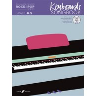 THE FABER GRADED ROCK & POP GRADE INITIAL - 1 KEYBOARDS SONGBOOK