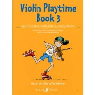 KEYSER (DE) P. VIOLIN PLAYTIME BOOK 3 VIOLON