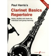 HARRIS P. CLARINET BASICS REPERTOIRE