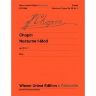 CHOPIN F. NOCTURNE FA MINEUR PIANO