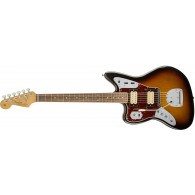 FENDER KURT COBAIN JAGUAR NOS LEFT HANDED 3-COLOR SUNBURST ROSEWOOD