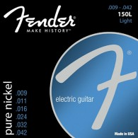 JEU DE CORDES GUITARE FENDER PURE NICKEL 150L LIGHT 09/42