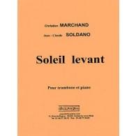 MARCHAND C./ SOLDANO J.C. SOLEIL LEVANT TROMBONE