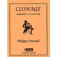 DURAND P. CLONAGE COR SOLO