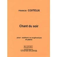 COITEUX F. CHANT DU SOIR SAXHORN BASSE