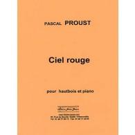 PROUST P. CIEL ROUGE HAUBTOIS