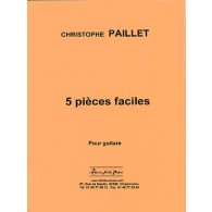 PAILLET C. PIECES FACILES GUITARE