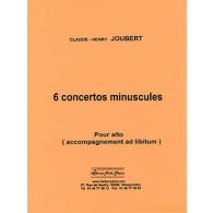 JOUBERT C.H. CONCERTOS MINUSCULES ALTO