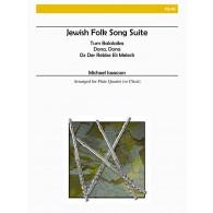 ISAACSOM M. JEWISH FOLK SONG SUITE FLUTES