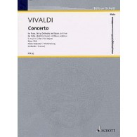 VIVALDI A. CONCERTO OP 10/4  FLUTE