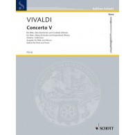 VIVALDI A. CONCERTO OP 10/5 FLUTE