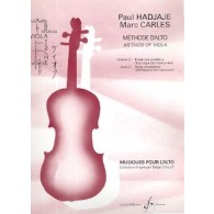 HADJAJE P./CARLES M. METHODE D'ALTO VOL 2