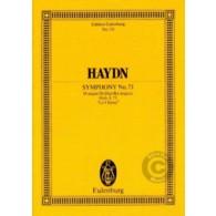 HAYDN J. SYMPHONIE N°73 D DUR CONDUCTEUR