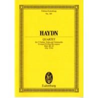 HAYDN J. STREICH-QUARTETT D DUR OP 33/6 CONDUCTEUR