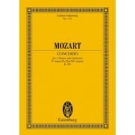 MOZART W.A. CONCERTO K 365 2 PIANOS ET ORCHESTRE PARTITION DE POCHE