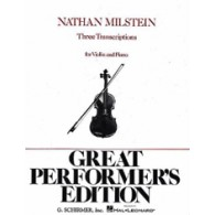MILSTEIN N. 3 TRANSCRIPTIONS VIOLON