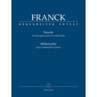 FRANCK C. SONATE -  MELANCOLIE VIOLONCELLE