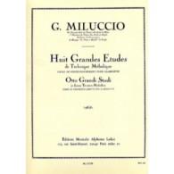 MILUCCIO G. GRANDES ETUDES CLARINETTE