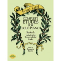 LISZT F. COMPLETE ETUDES FOR SOLO PIANO VOL 1