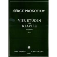 PROKOFIEV S. ETUDES OP 2 PIANO