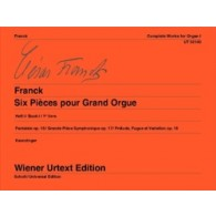 FRANCK C. OEUVRES COMPLETES VOL 1 ORGUE