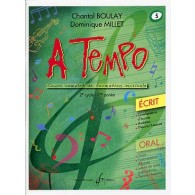BOULAY C./MILLET D. A TEMPO VOL 5 ECRIT