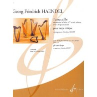 HAENDEL G.F. PASSACAILLE HARPE CELTIQUE