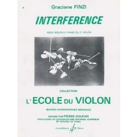 FINZI G. INTERFERENCE VIOLON