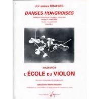 BRAHMS J. DANSES HONGROISES VOL 1 VIOLON