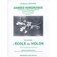 BRAHMS J. DANSES HONGROISES VOL 2 VIOLON